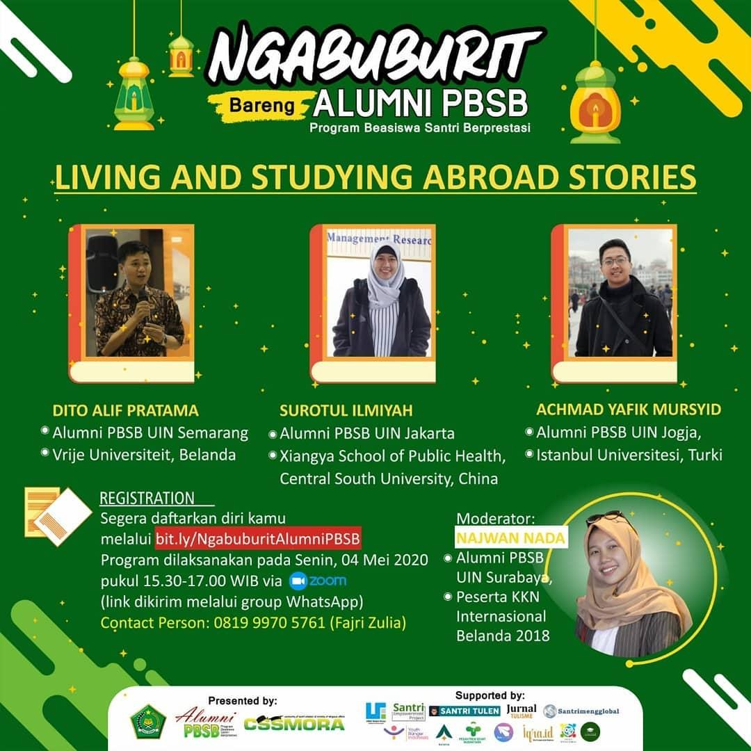 Ngabuburit Bareng Alumni PBSB, #Sesi 4